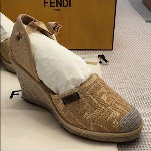 Fendi Shoes - SOLD‼️Fendi wedge sandal